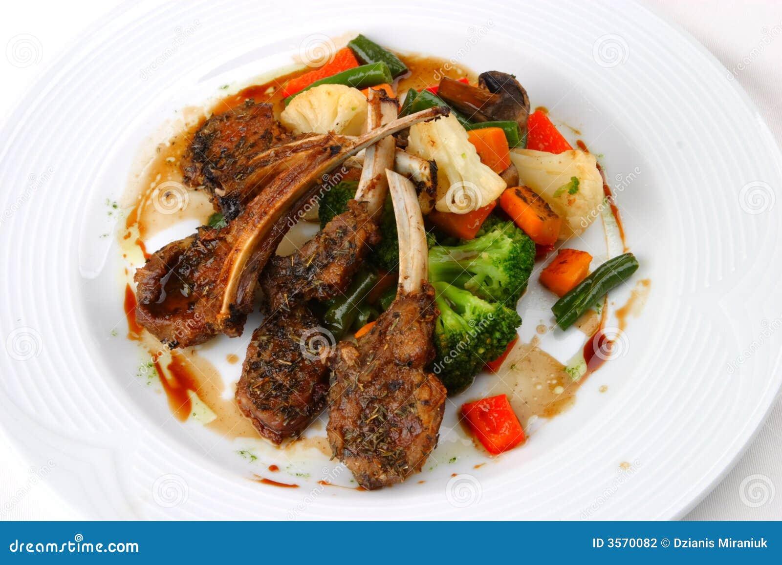 Carne dell insalata