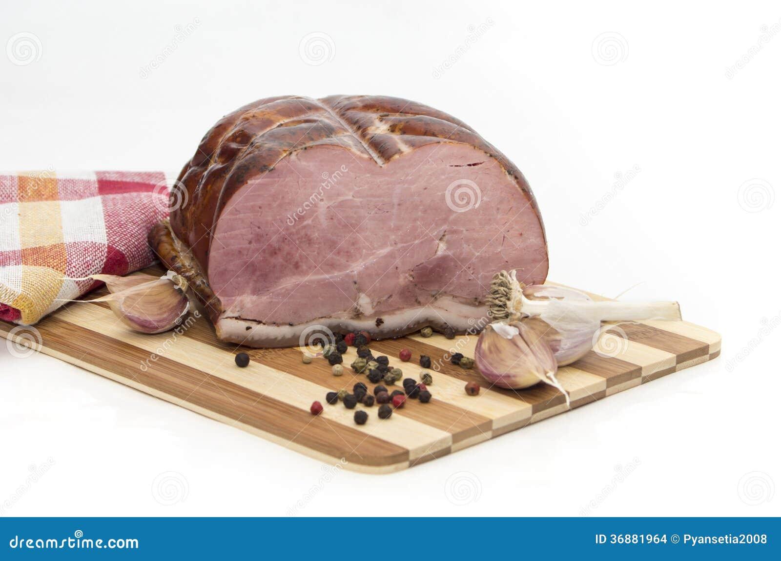 Download Carne Di Maiale Al Forno Fredda Con Aglio E Pepe Fotografia Stock - Immagine di freddo, aglio: 36881964