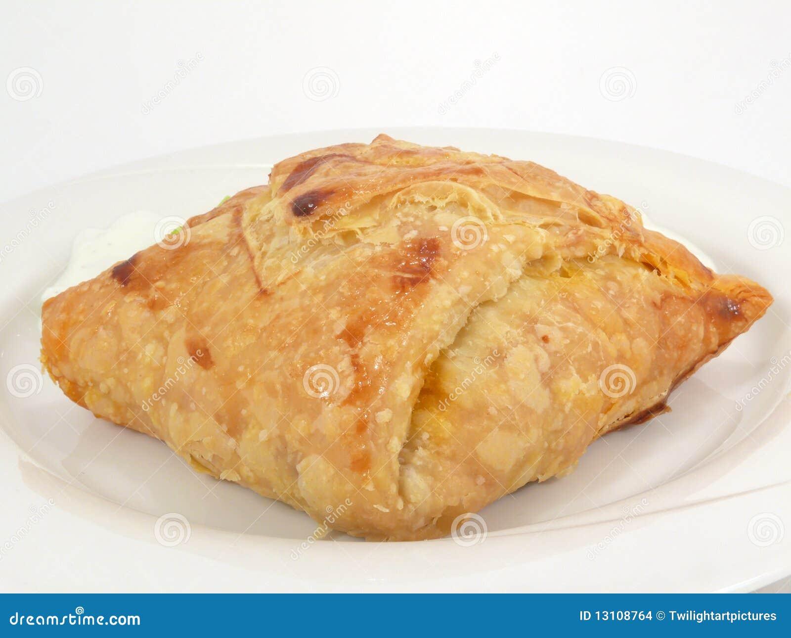 Carne picadita en pasteles de soplo