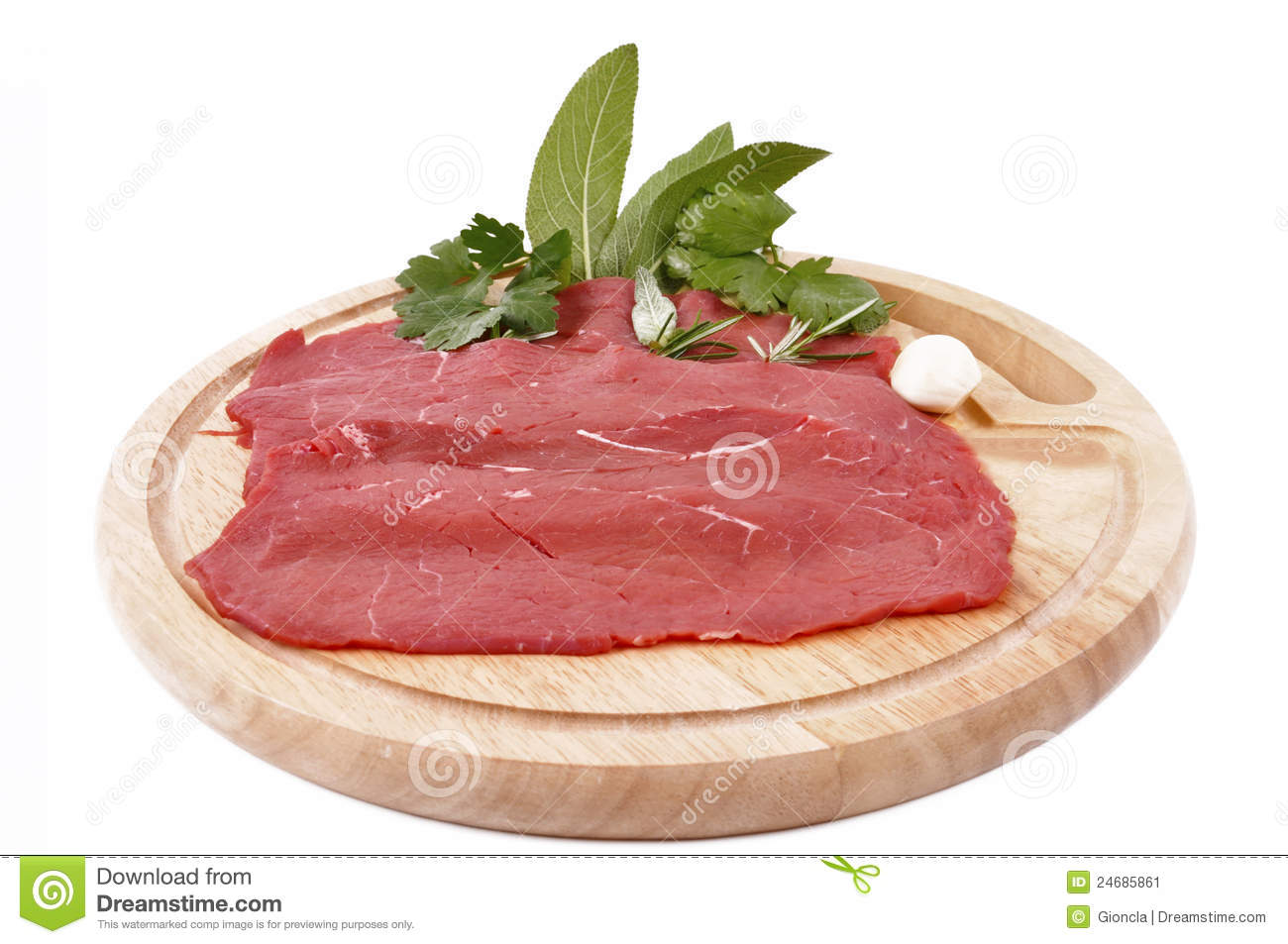 Carne Rossa Magra-lean Red Meat Stock Image - Image: 24685861