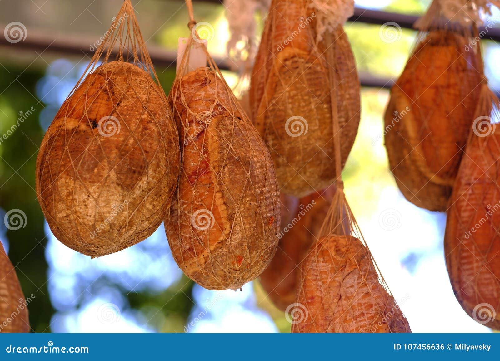 Carne secca, piatto affumicato delizioso