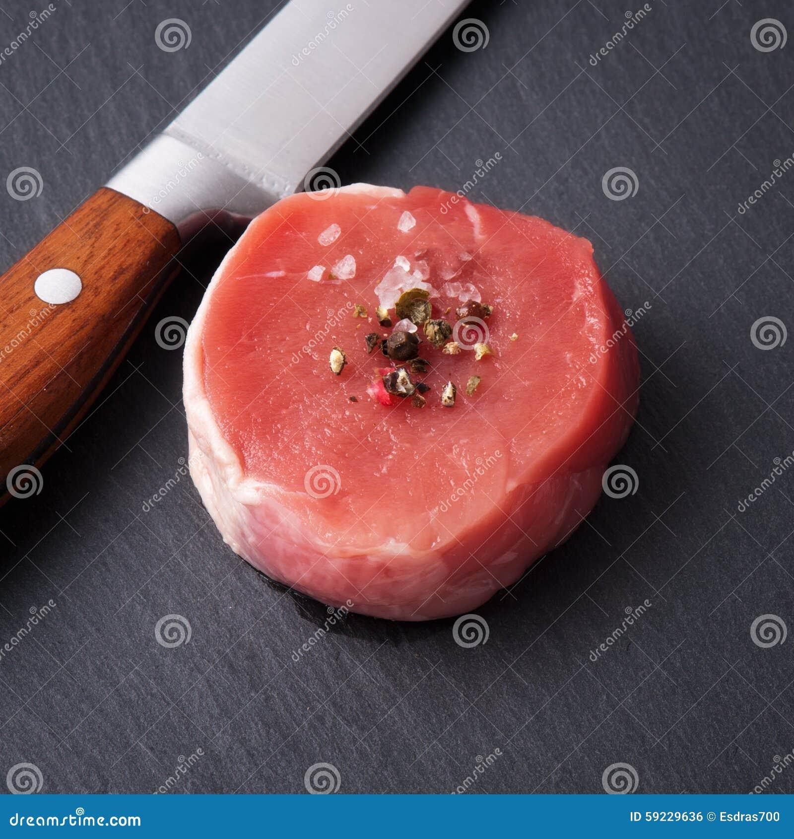 Download Carne Sin Procesar Con Las Especias Foto de archivo - Imagen de pimienta, plato: 59229636