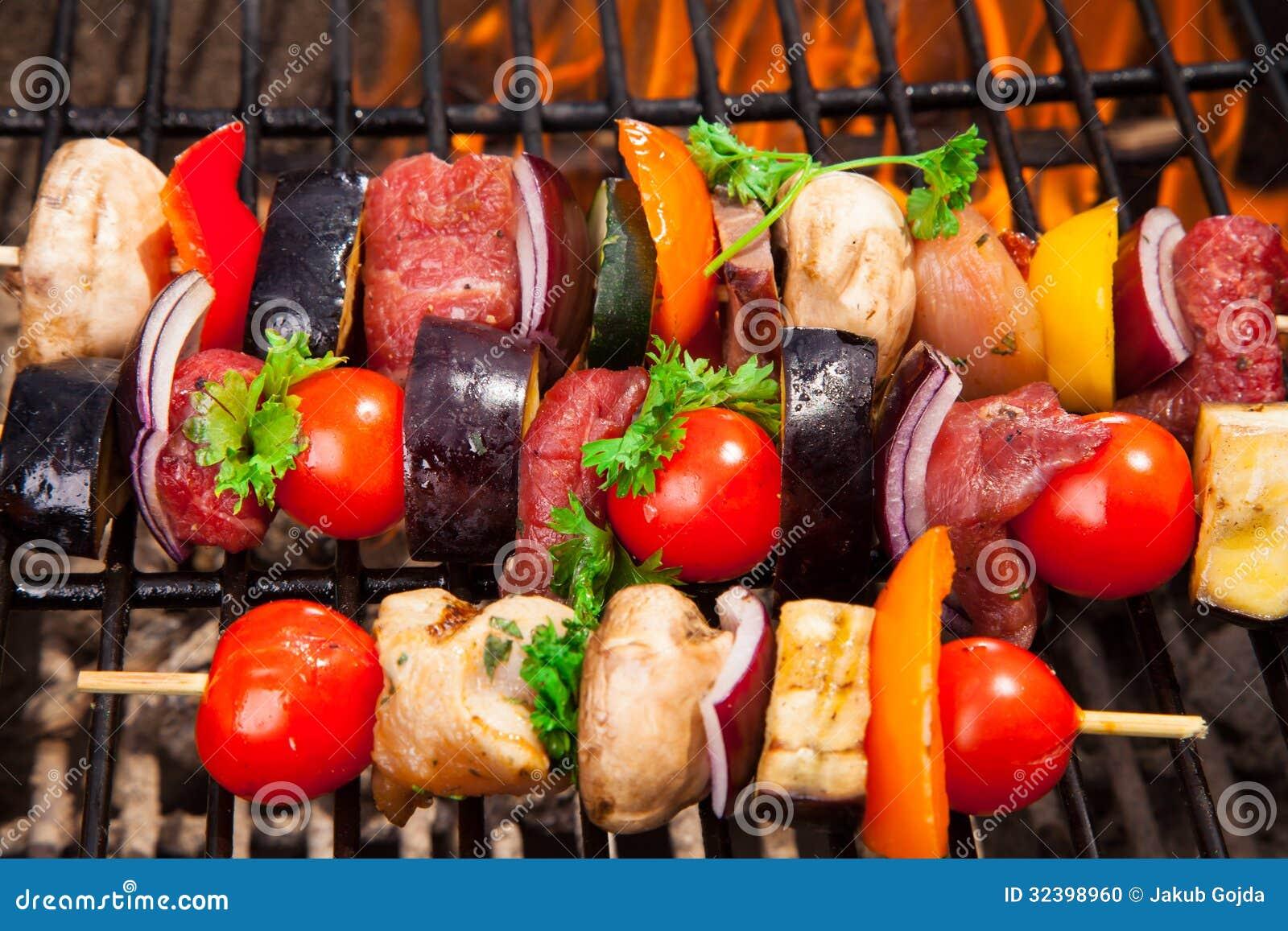 Carne sulla griglia