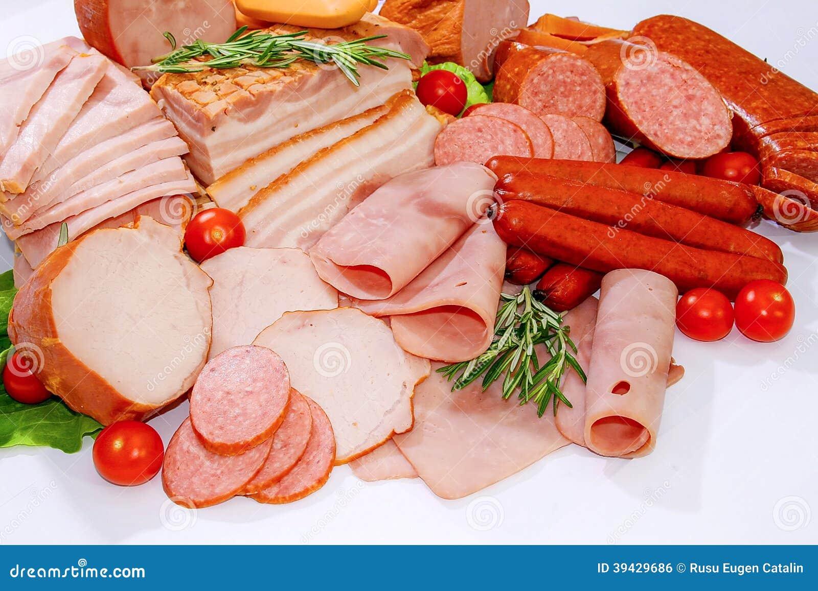 Carne y salchichas