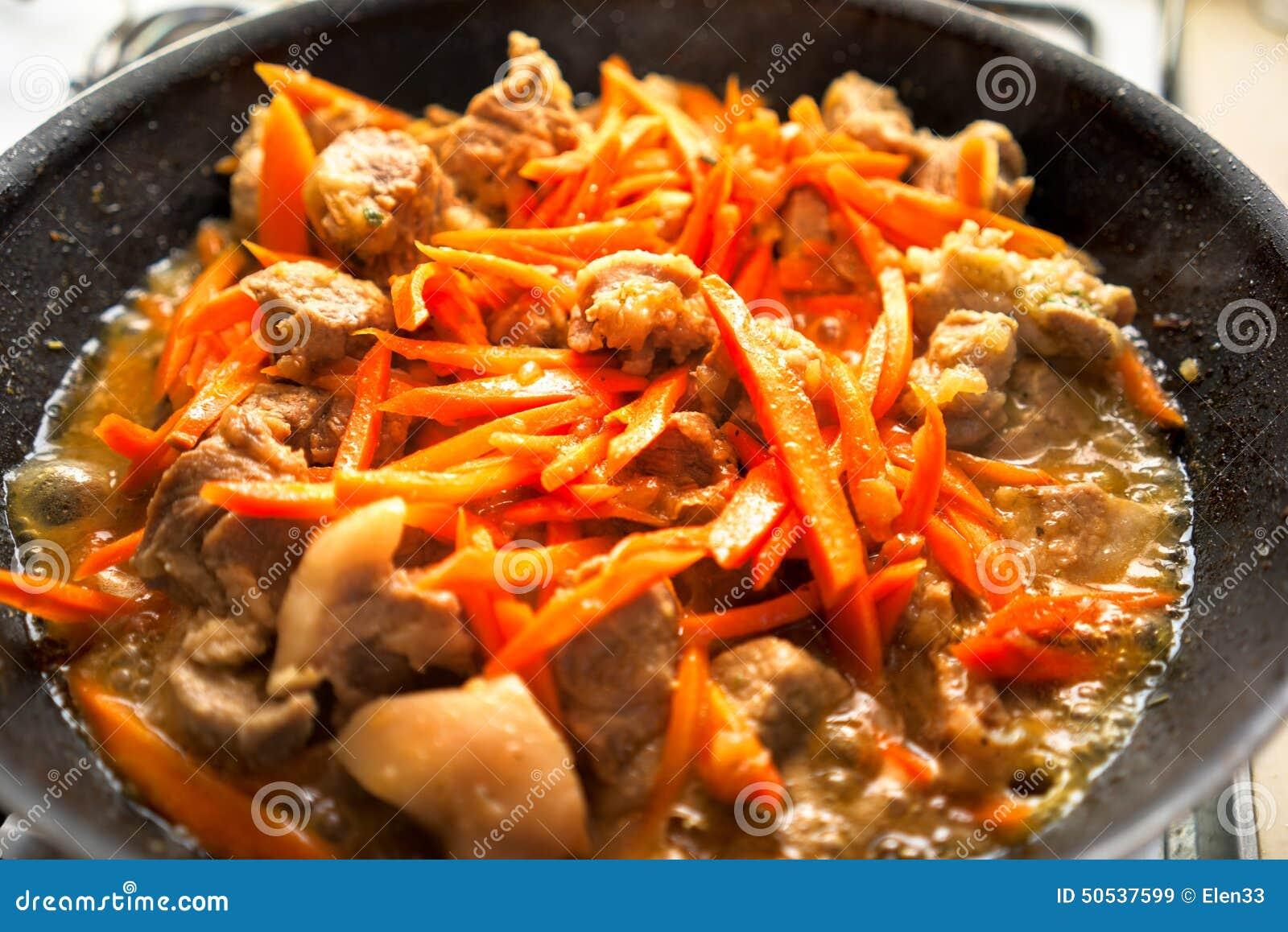 Carne y zanahoria