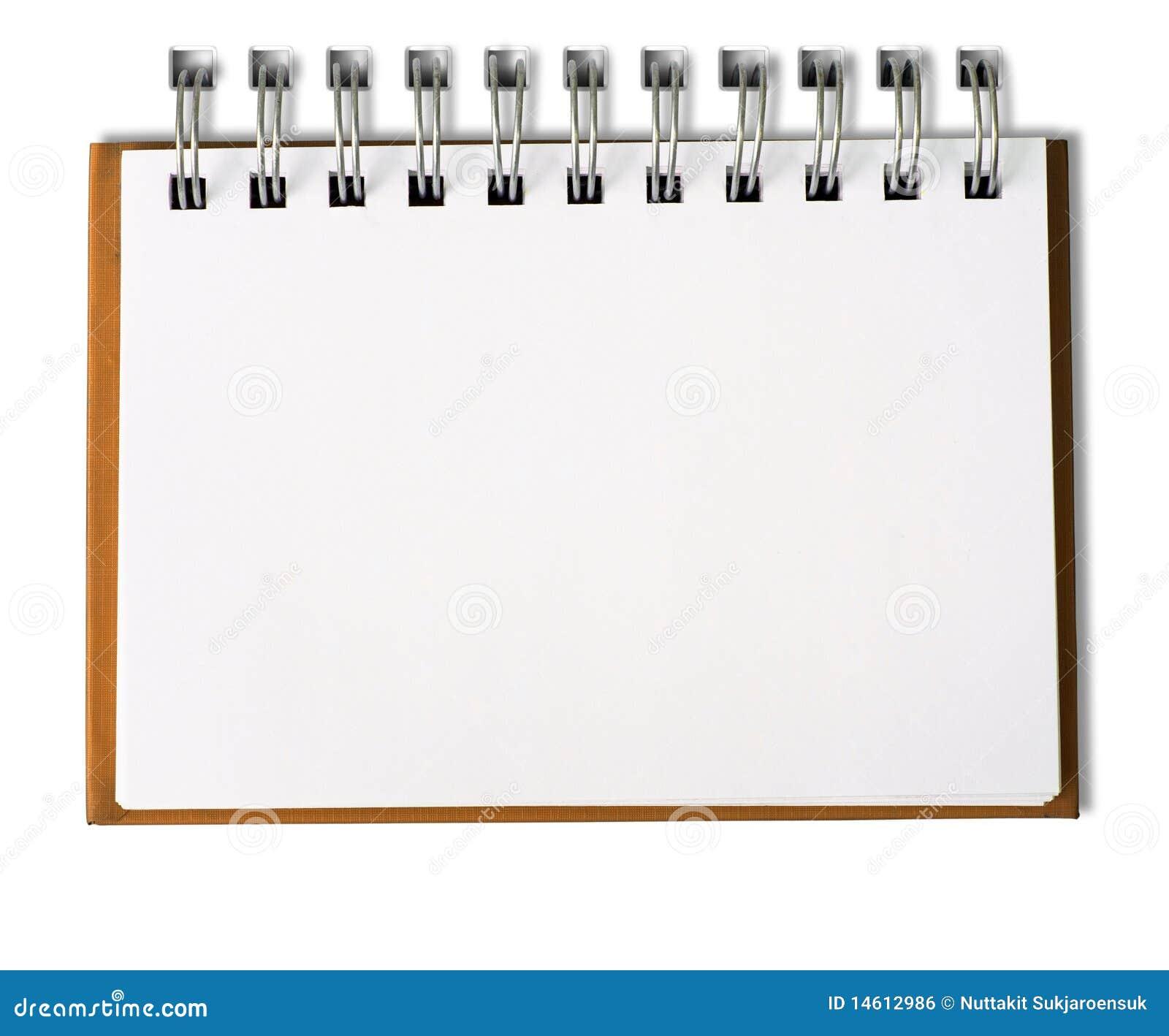 carnet blanc horizontal photo stock  image du attraction