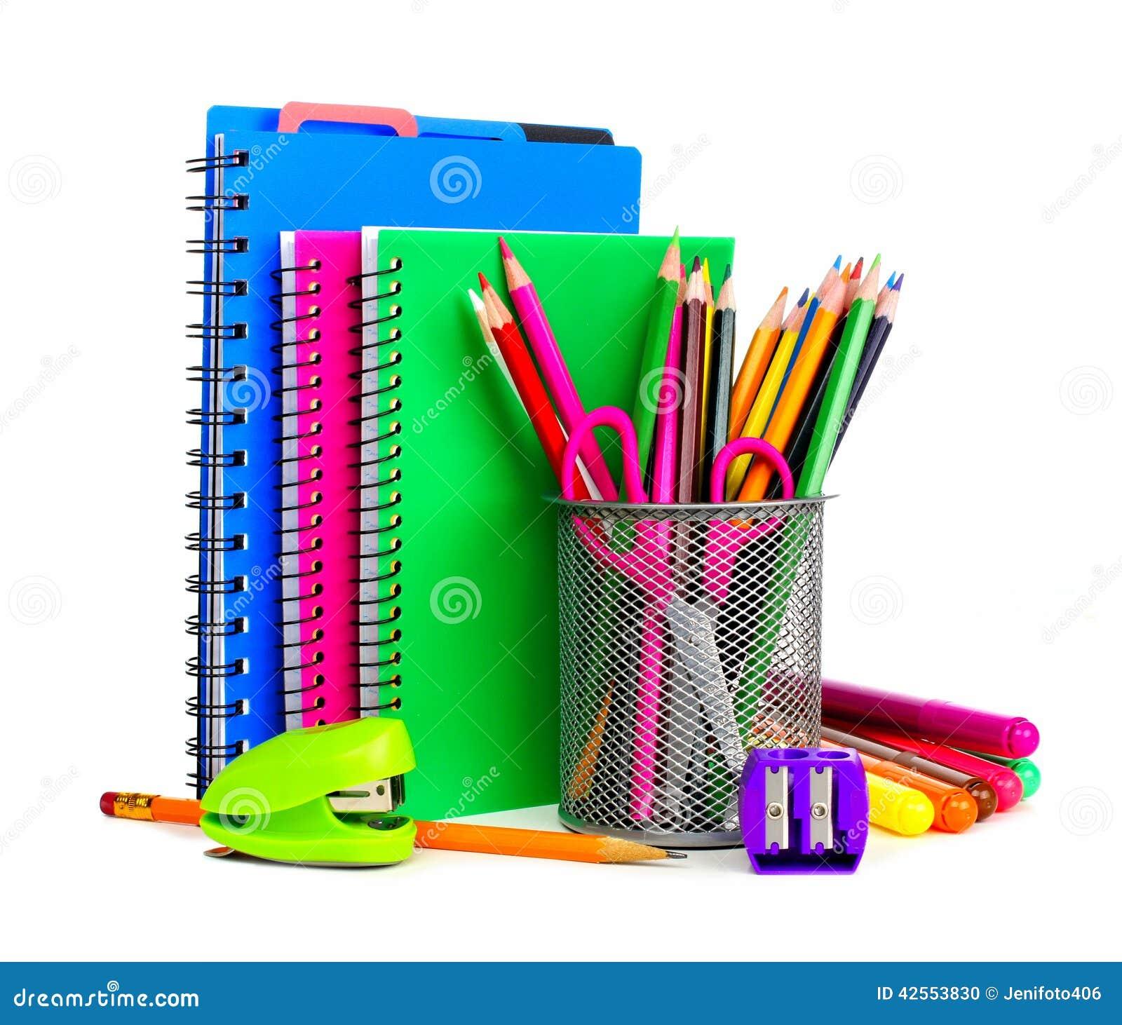 Carnets et fournitures scolaires