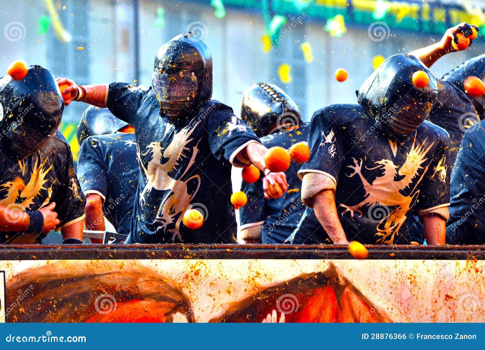 Carnevale d ivrea