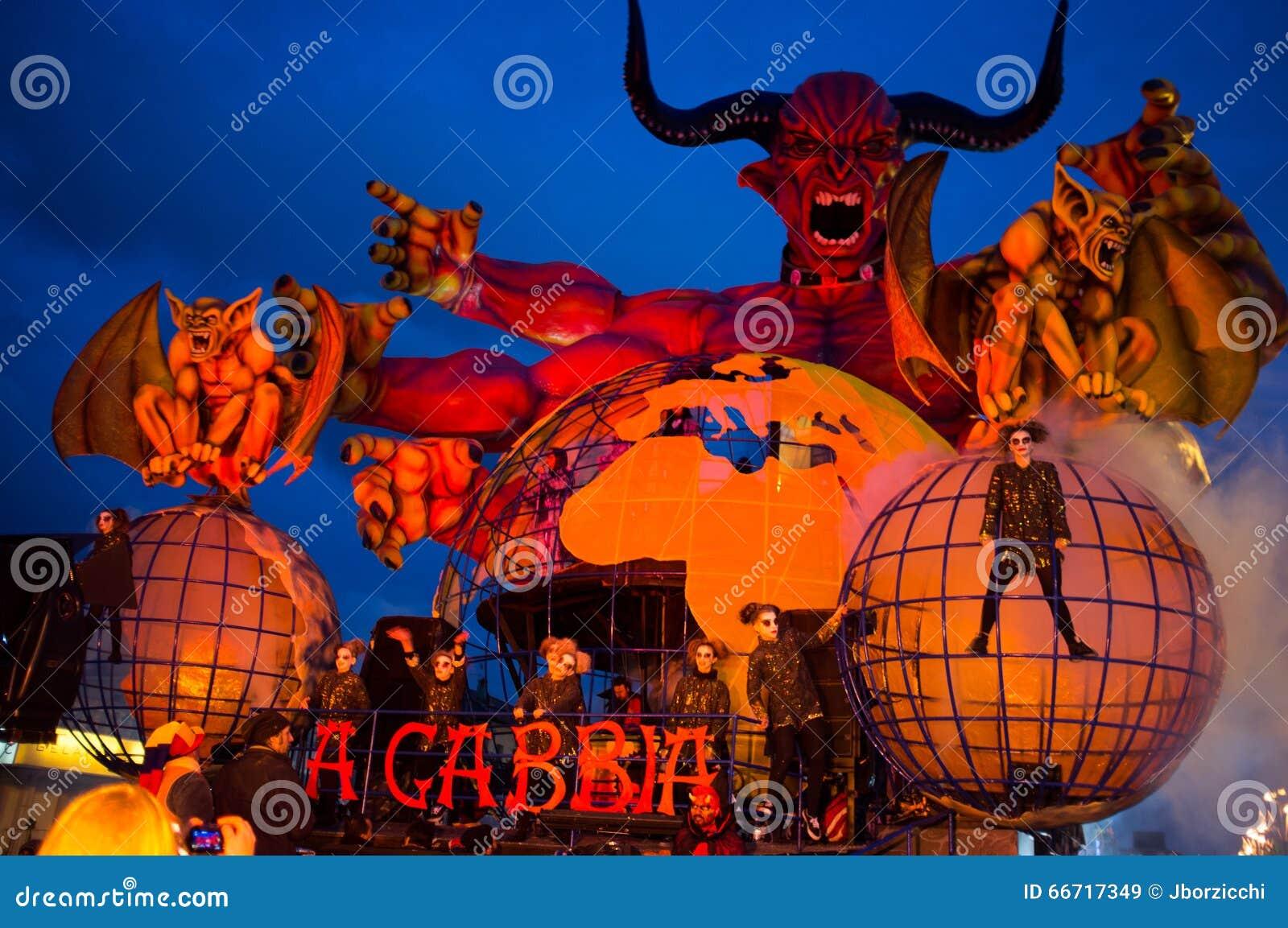 Carnevale, Viareggio, Italia, Europa