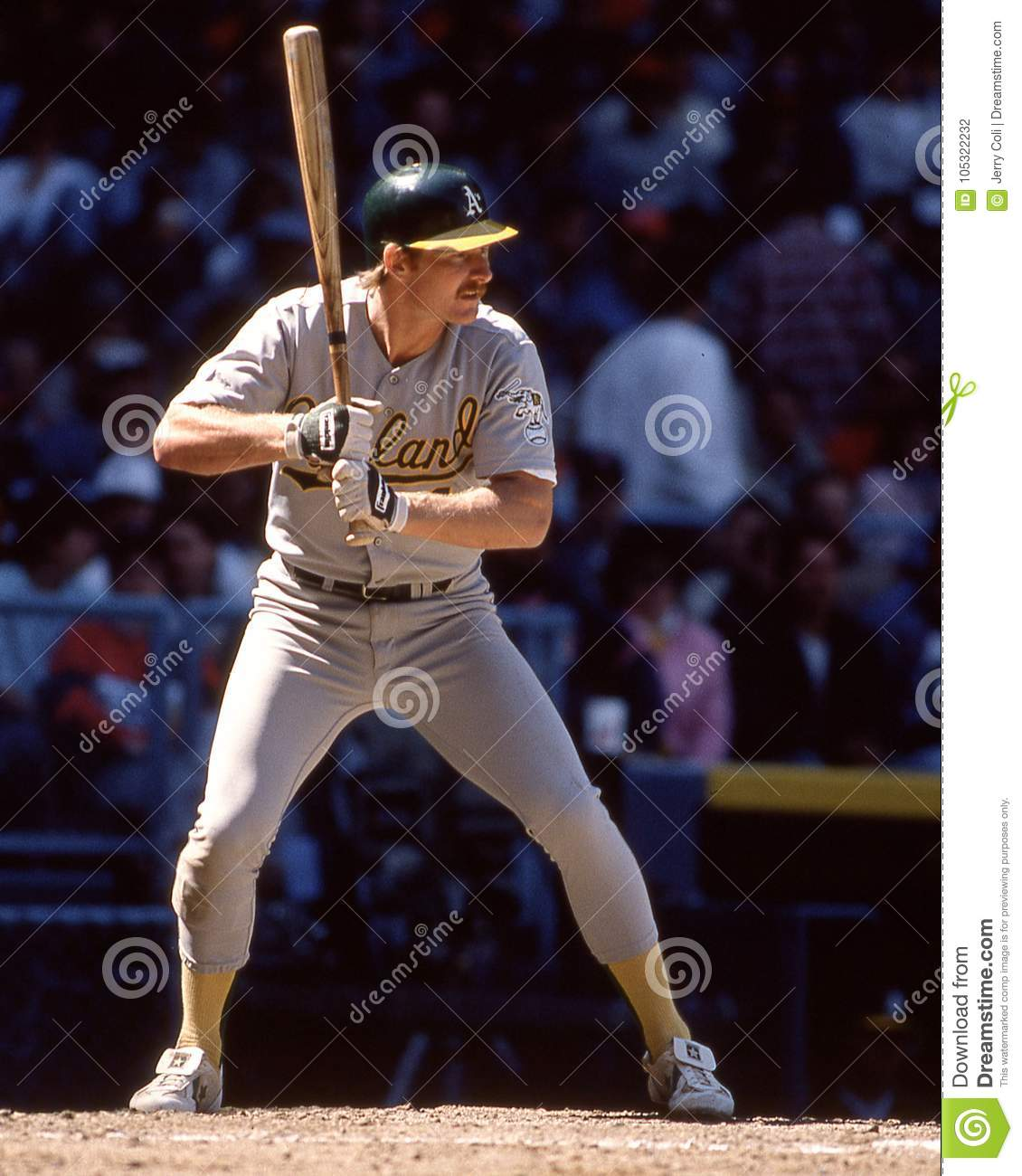 Carney Lansford, Oakland Athletics