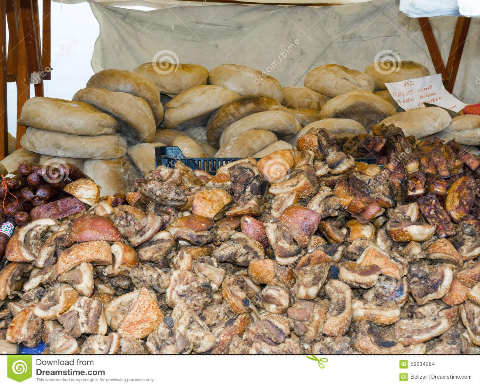 Carnicería y panadería
