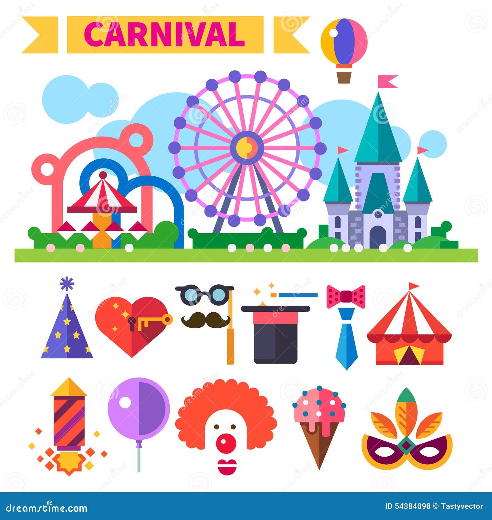 Carnival Theme Invitation was luxury invitations design