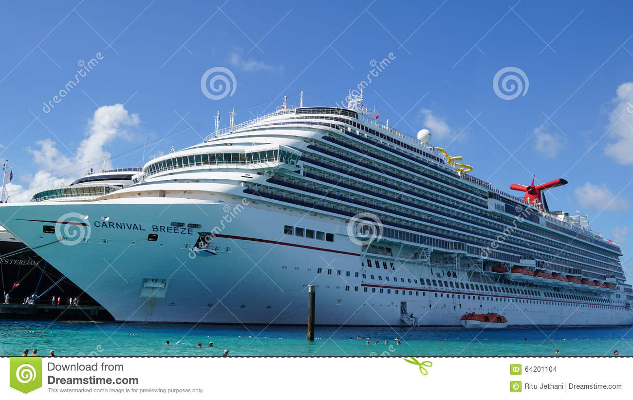 Carnival Breeze Docked In Grand Turk Turks And Caicos Islands - Turks and caicos cruise ship schedule