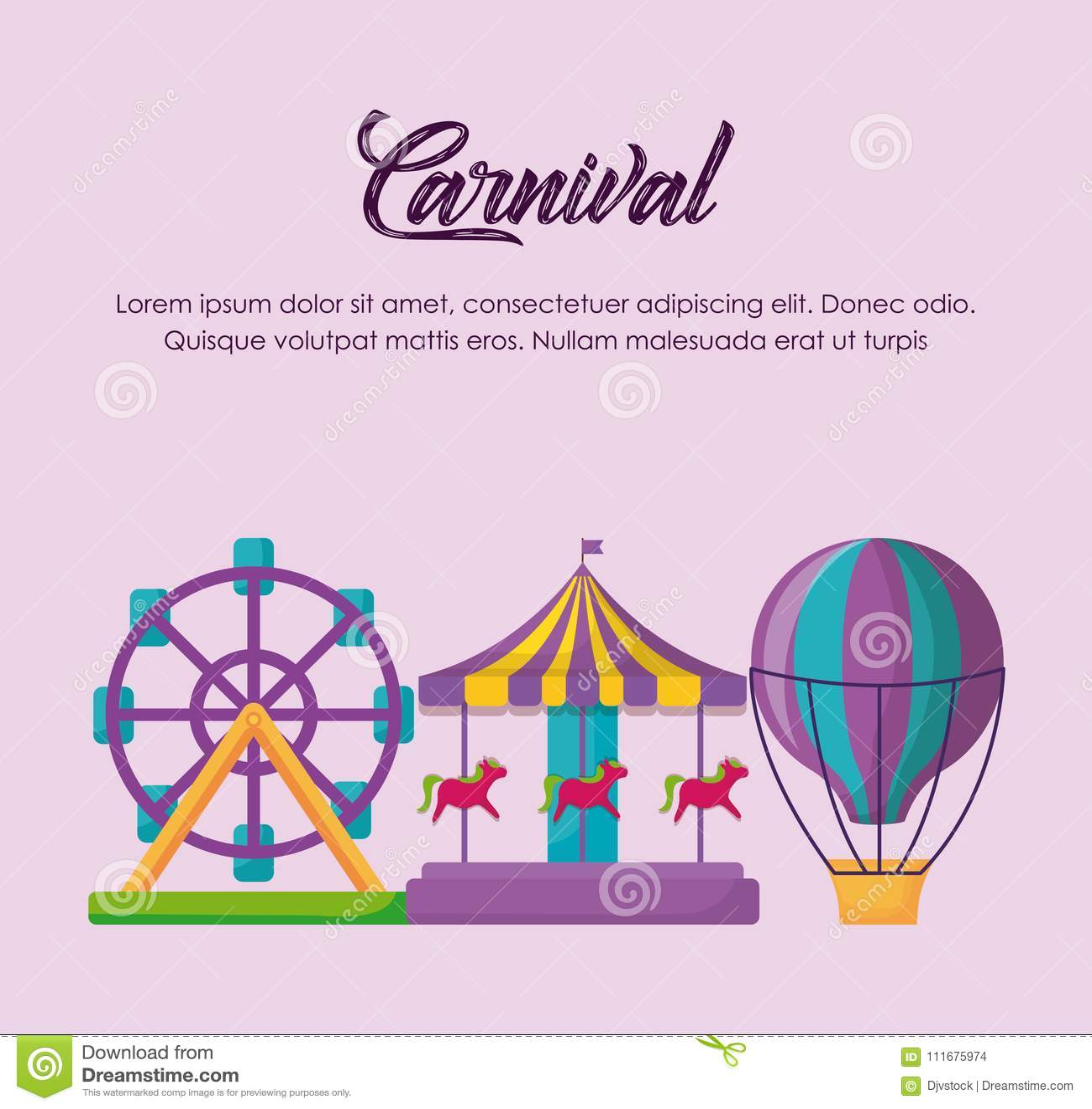 Carnival circus design