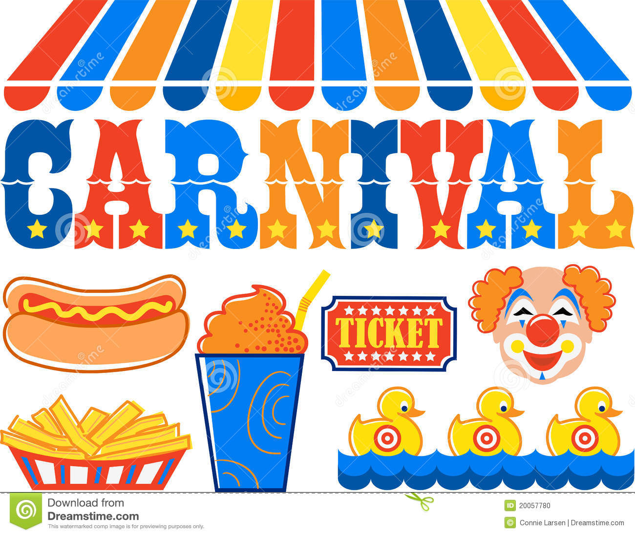 carnival clipart eps stock vector illustration of clipart 20057780