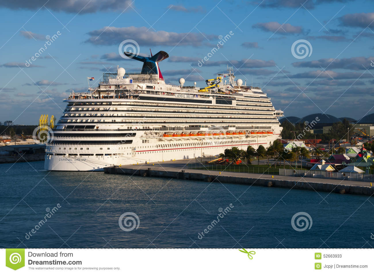 Carnival Cruise Ship Editorial Stock Photo  Image 52663933