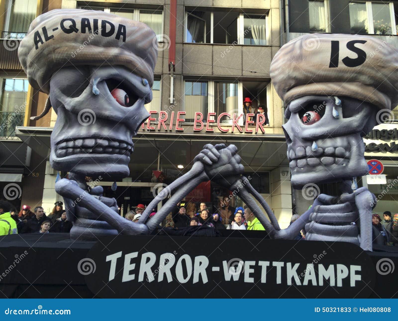 Charlie Hebdo - carnival in Dusseldorf