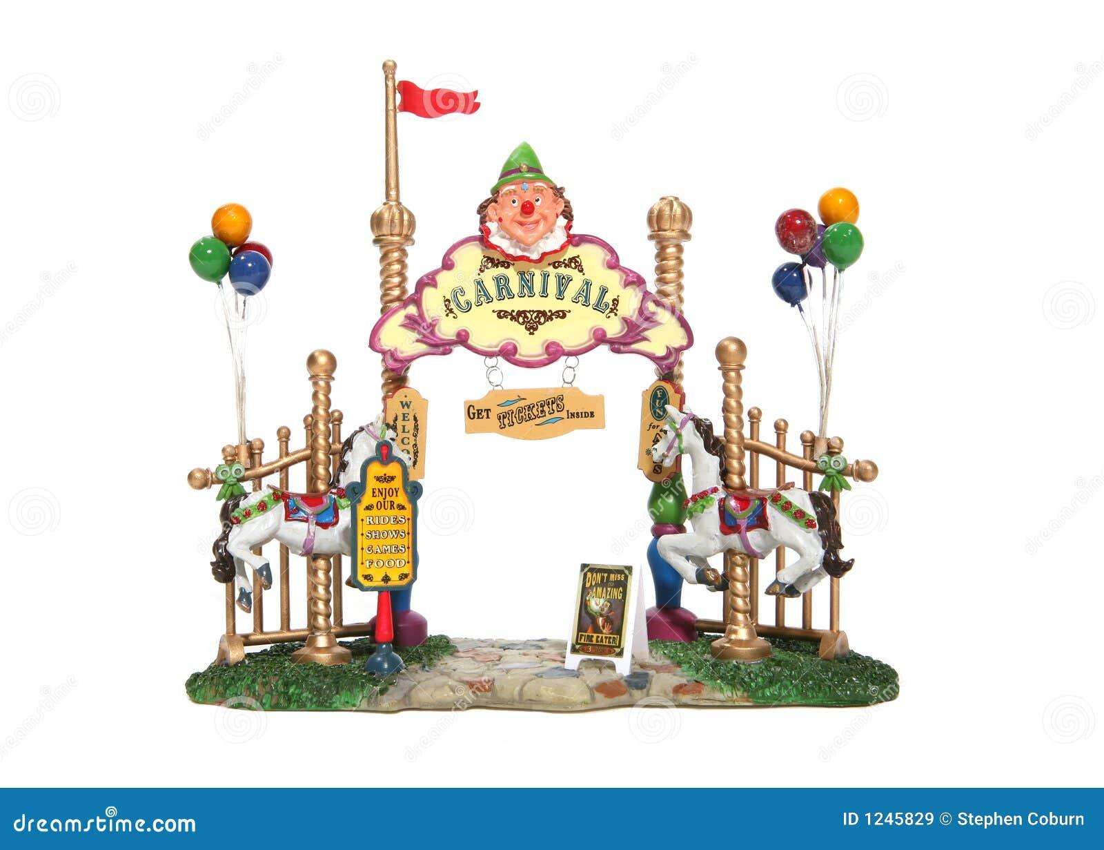 vintage carnival ride