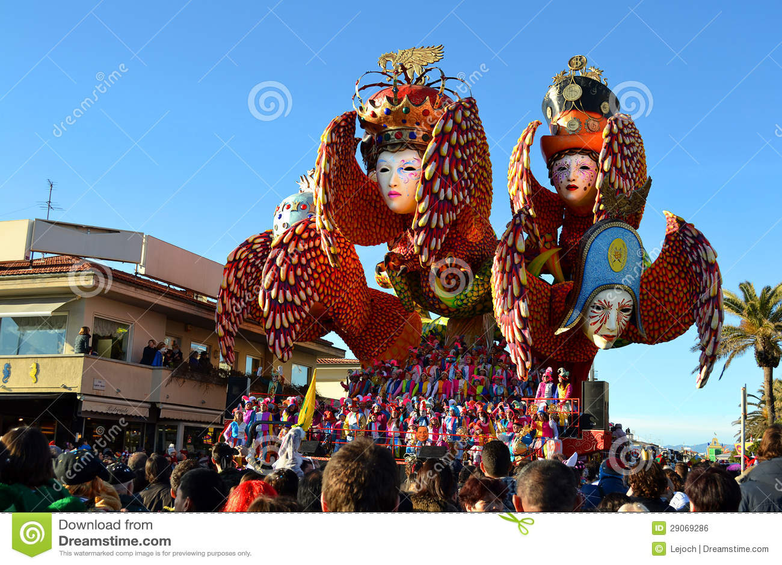 Carnival float, Viareggio