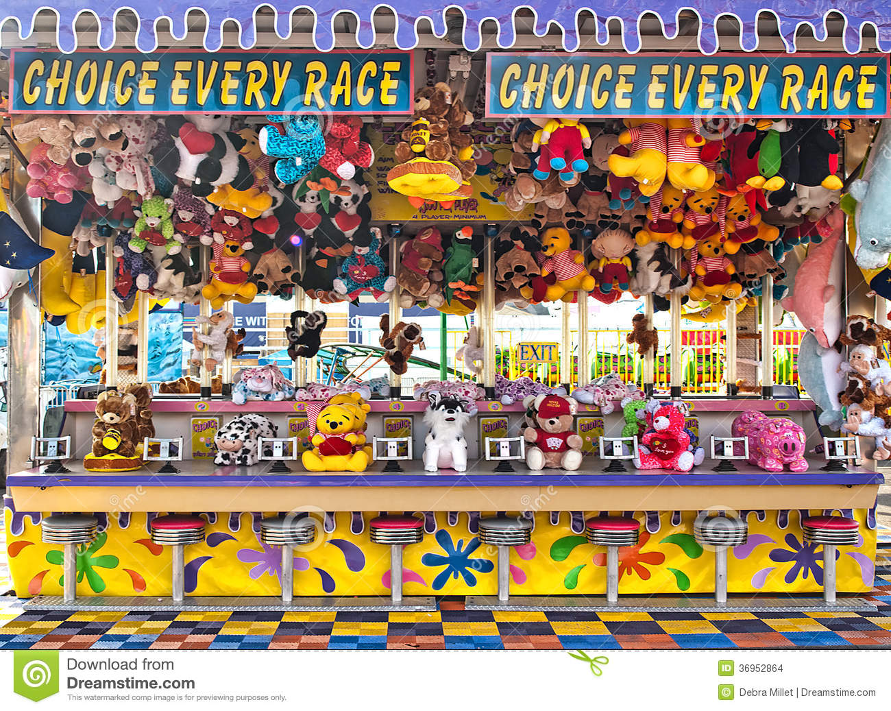 Carnival Game Editorial Stock Image Image Of Fair Animals 36952864