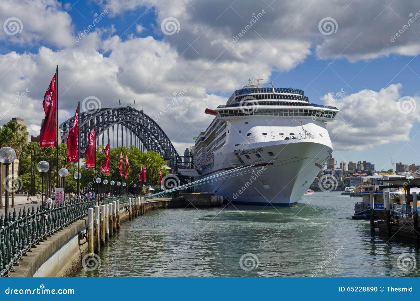 Carnival Legend Cruise Ship and Bridge