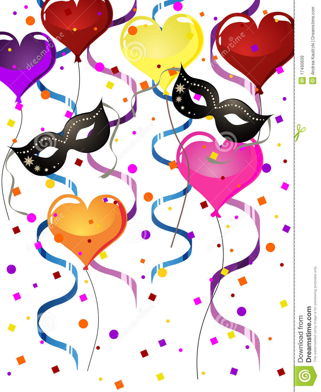 Carnival party stock vector. Image of carnival, party ... X 23 Costume