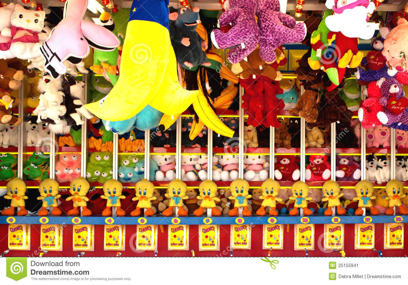 How many prizes for carnival games