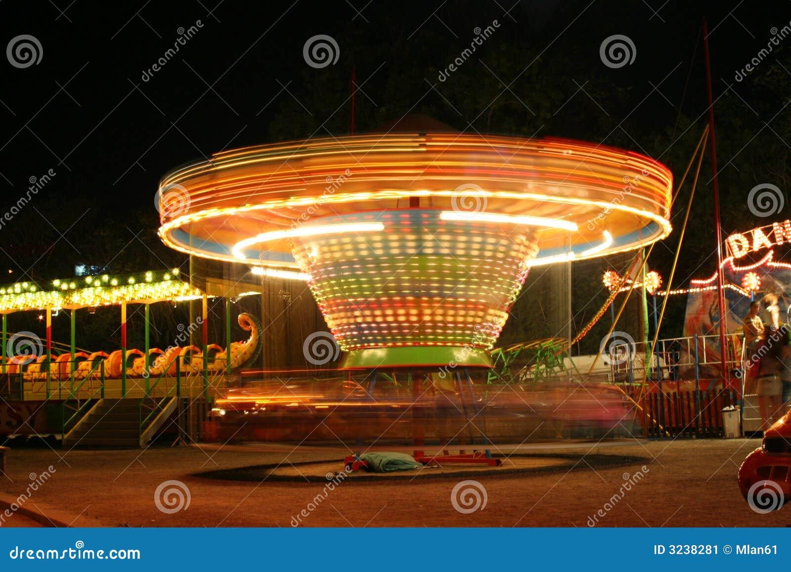 Photographing Carnival Rides At Night Carnival Rides At Nigh...