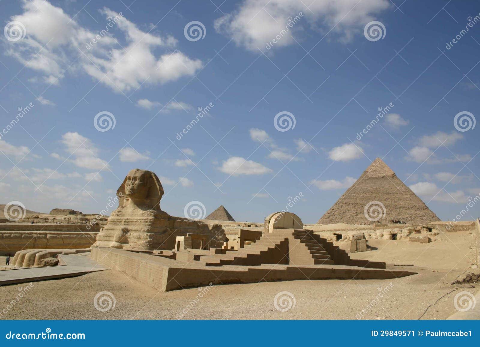 Caro Egito da esfinge