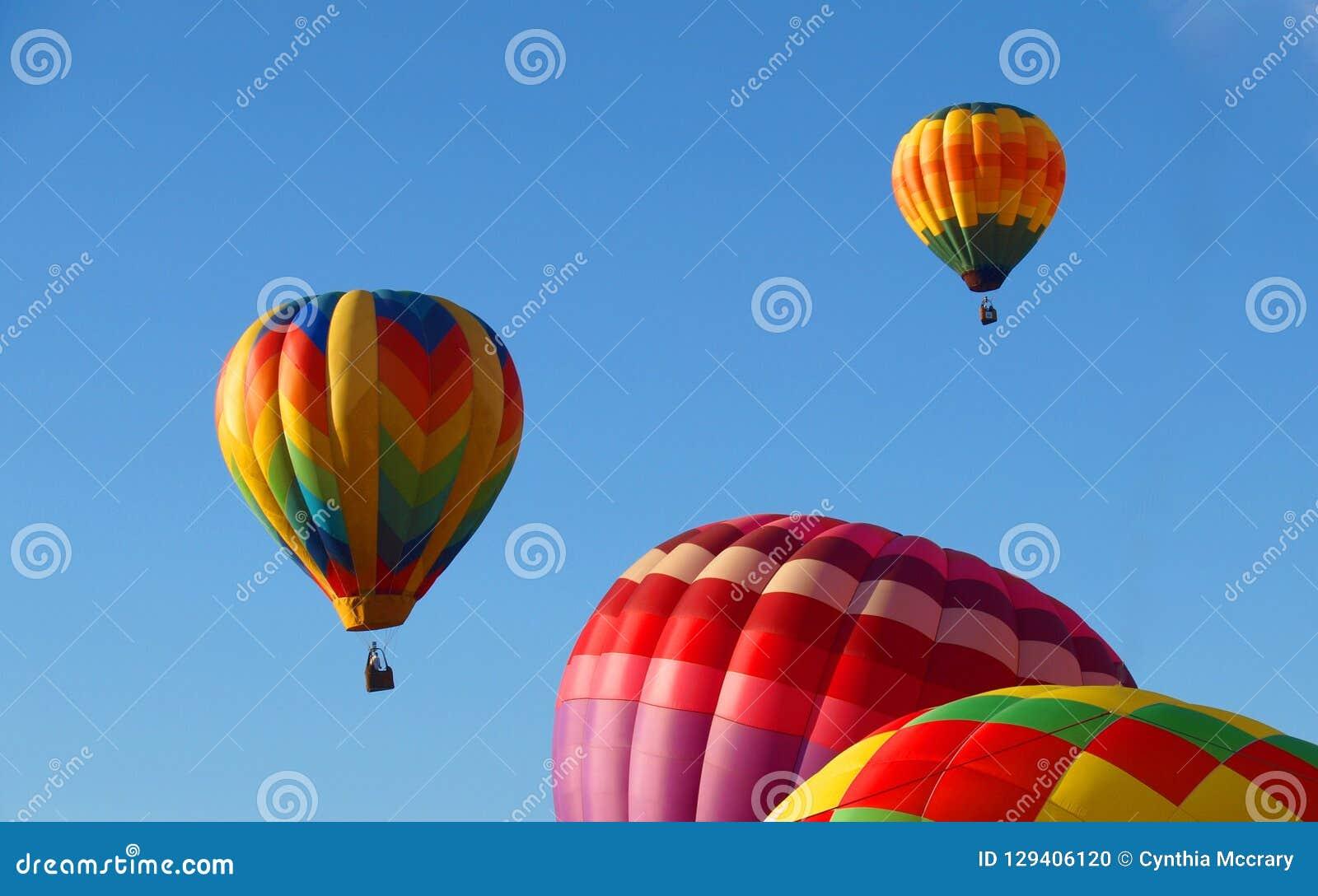 Hot Air Balloons at Carolina BalloonFest