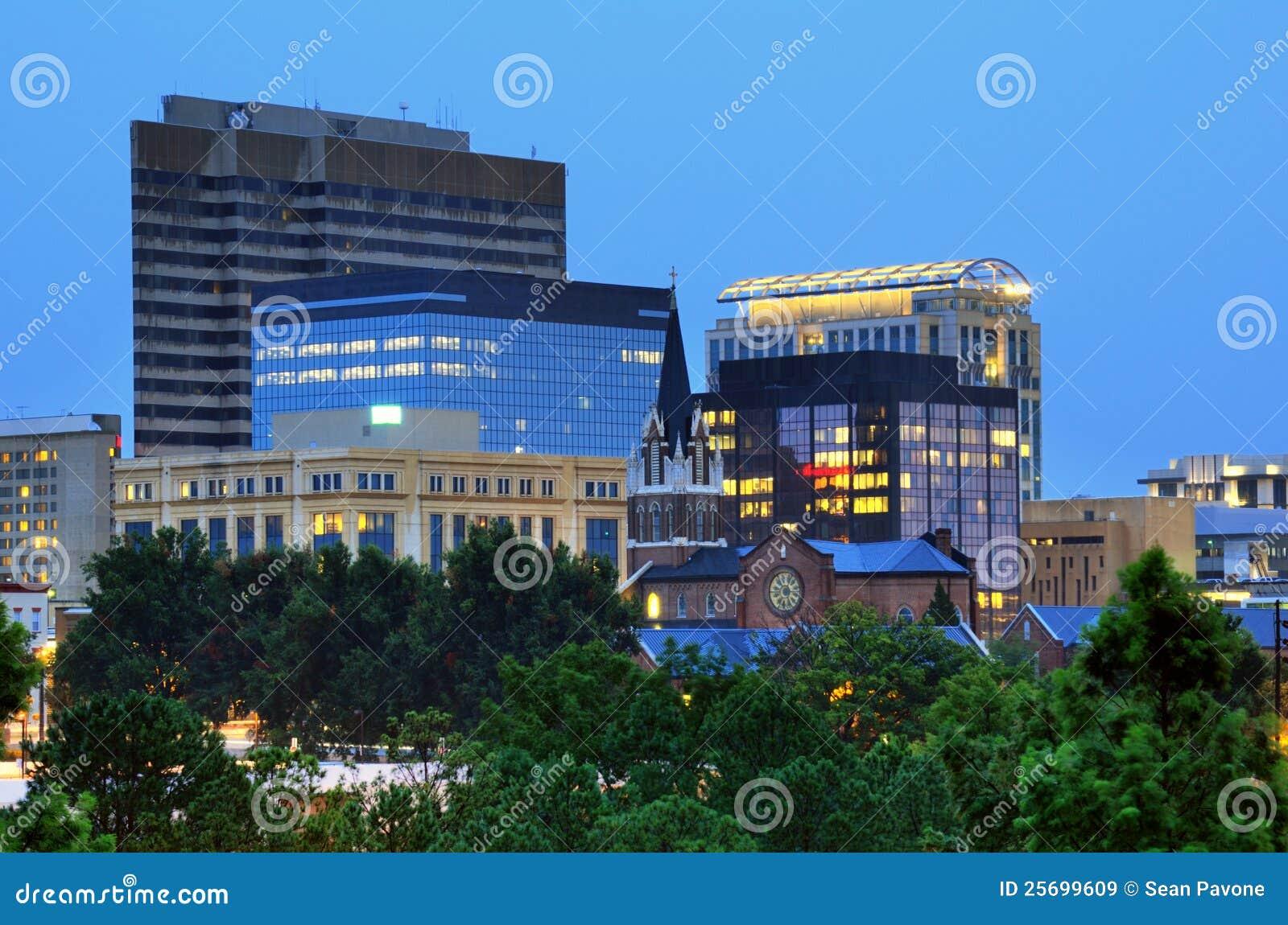 Carolina Columbia śródmieścia południe