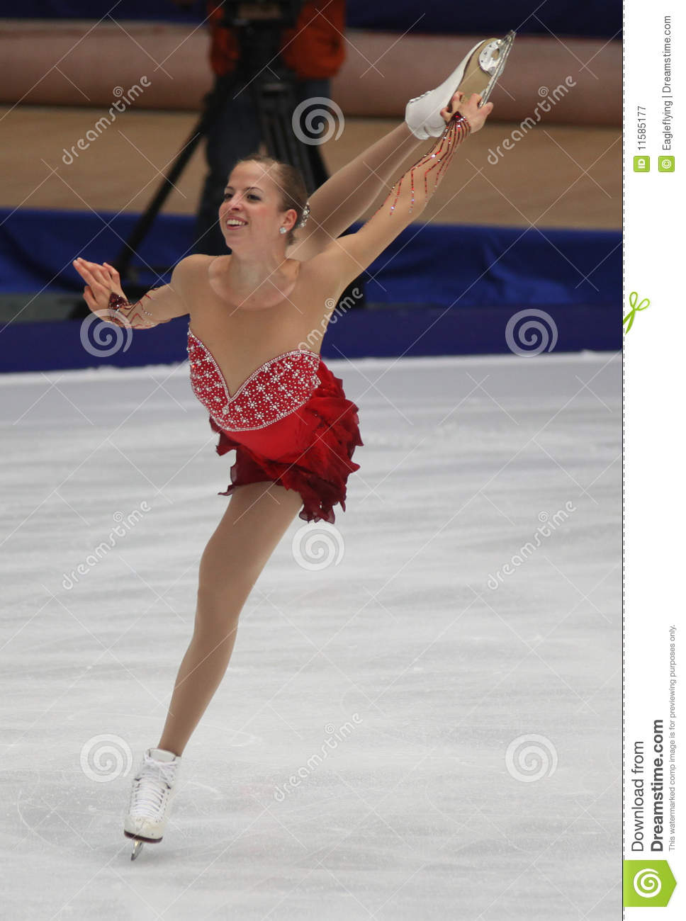 carolina kostner ita editorial photography image 11585177