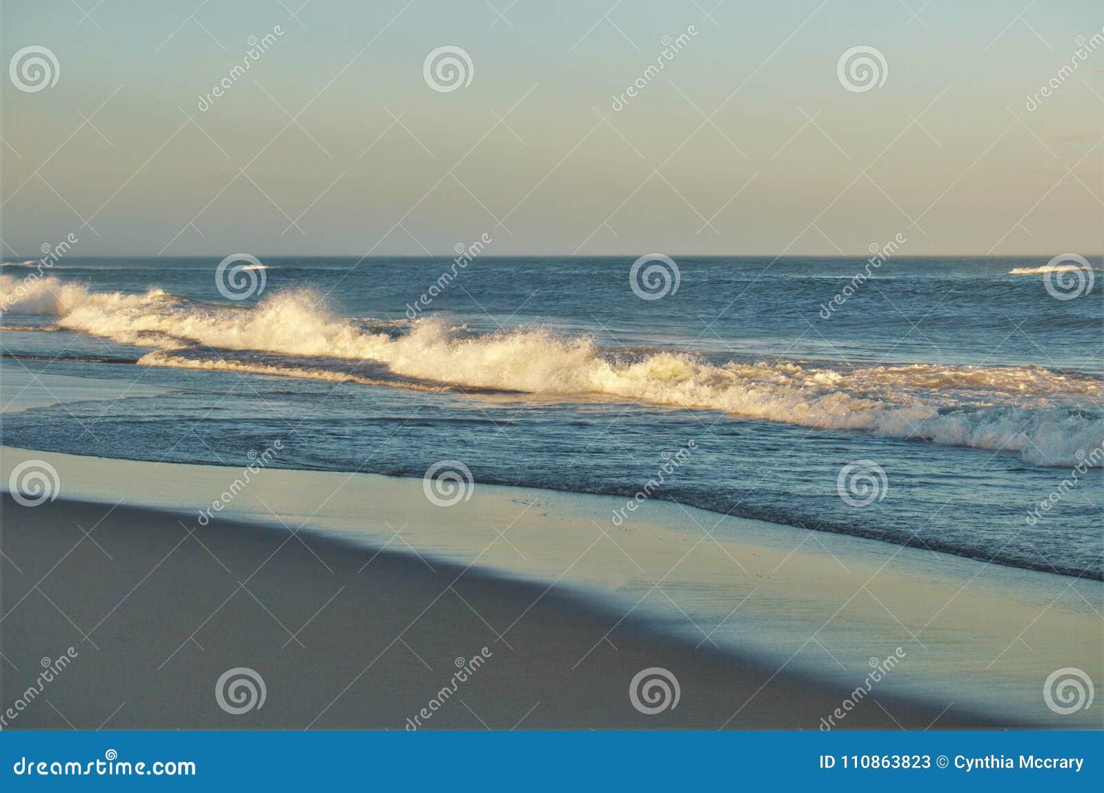 Carolina Outer Banks Beach Sunset du nord