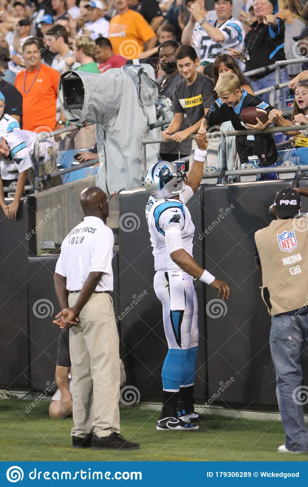 Cam Newton editorial stock photo. Image of national