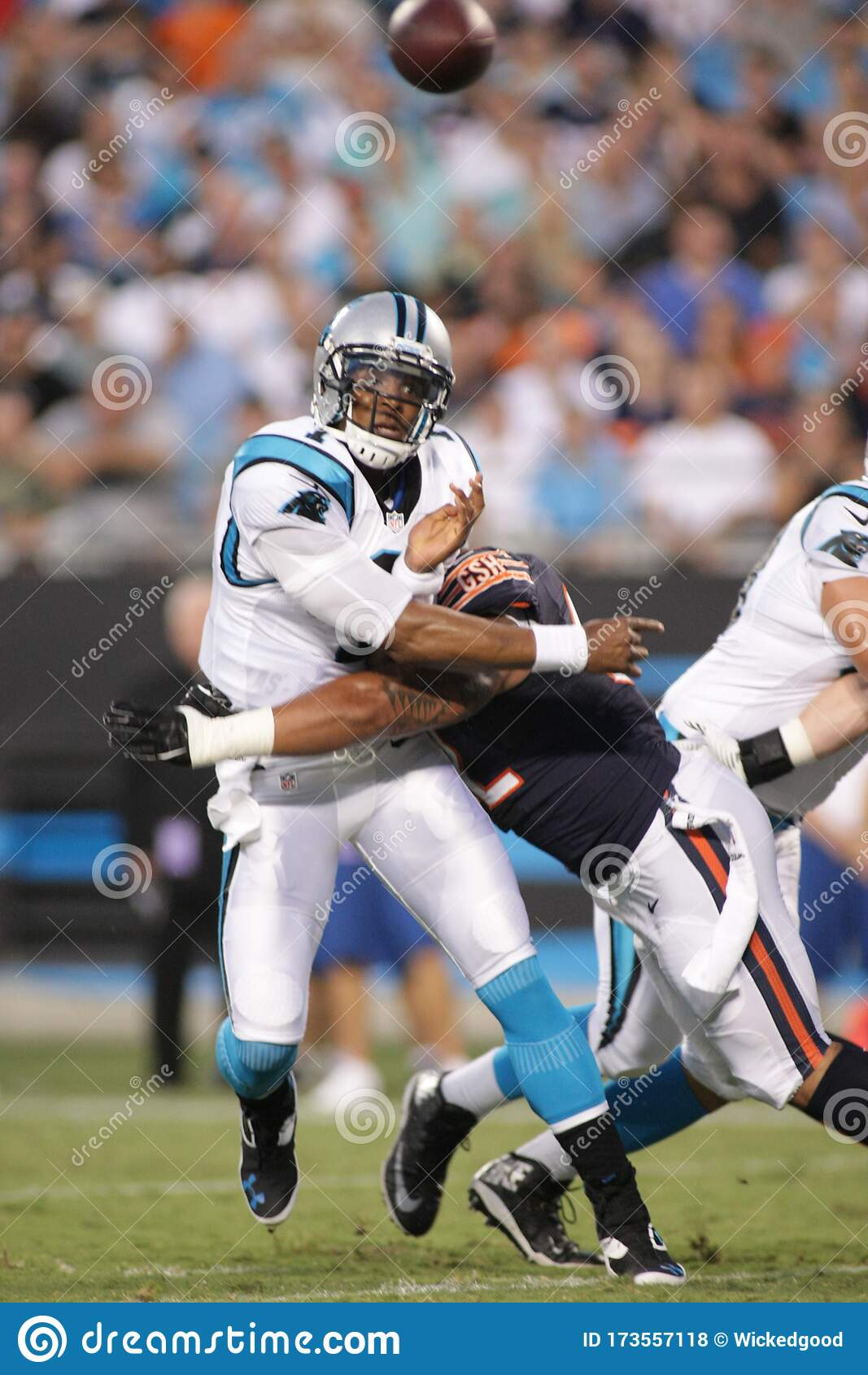Cam Newton editorial stock image. Image of football