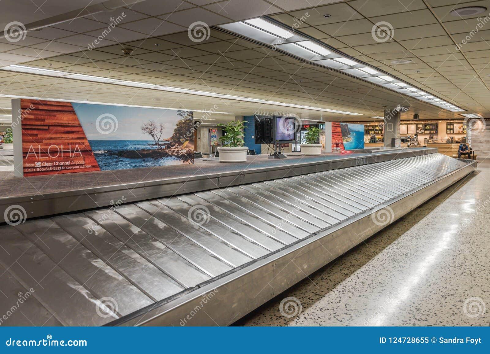 Contea Di Honolulu Hawaii carosello aloha welcome del bagaglio dell'aeroporto di