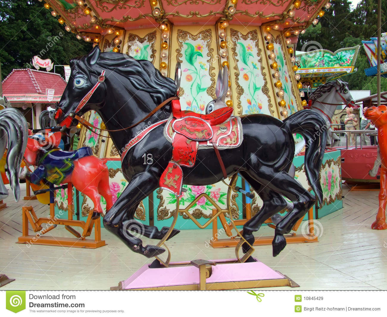 Carousel Royalty Free Stock Images - Image: 10845429