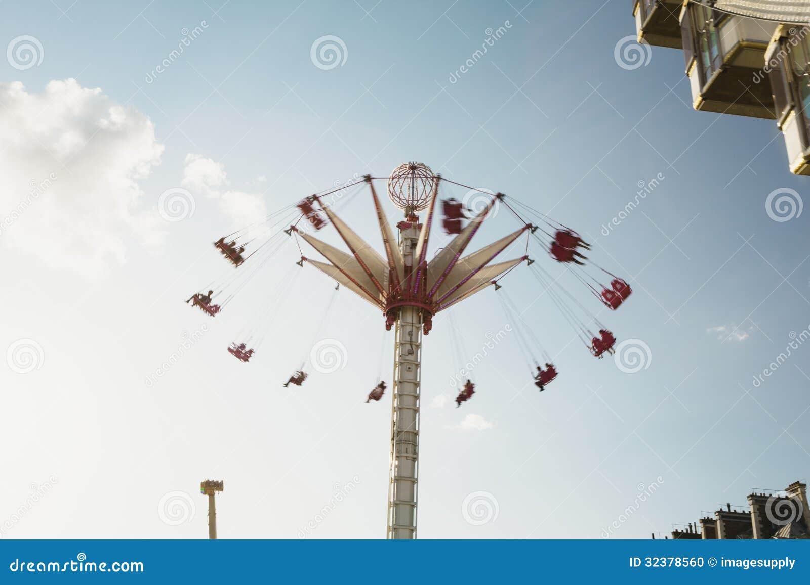 Carousel in paris editorial image image 32378560 for Amusement parks in paris