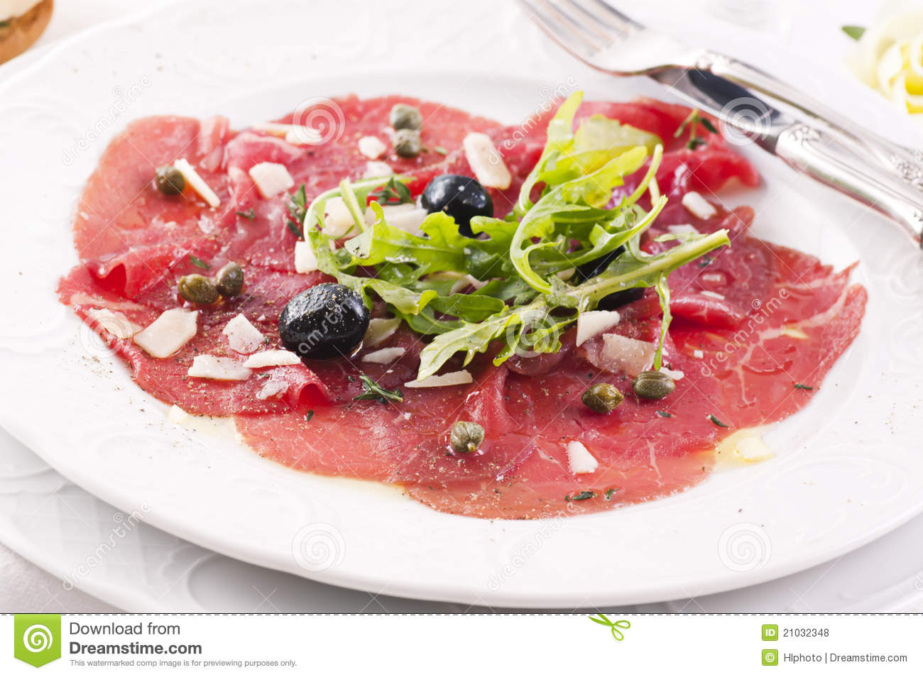 Carpaccio Royalty Free Stock Photos - Image: 21032348