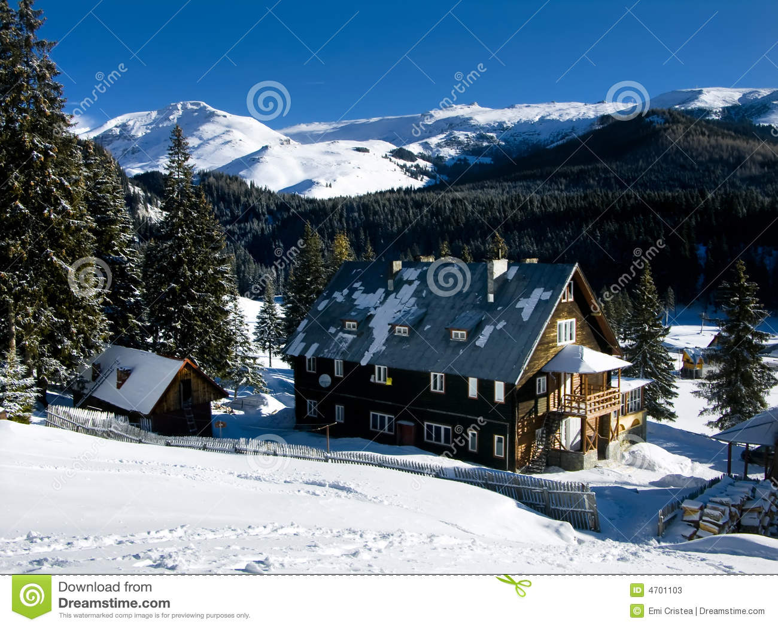 Carpathian chaletpadina