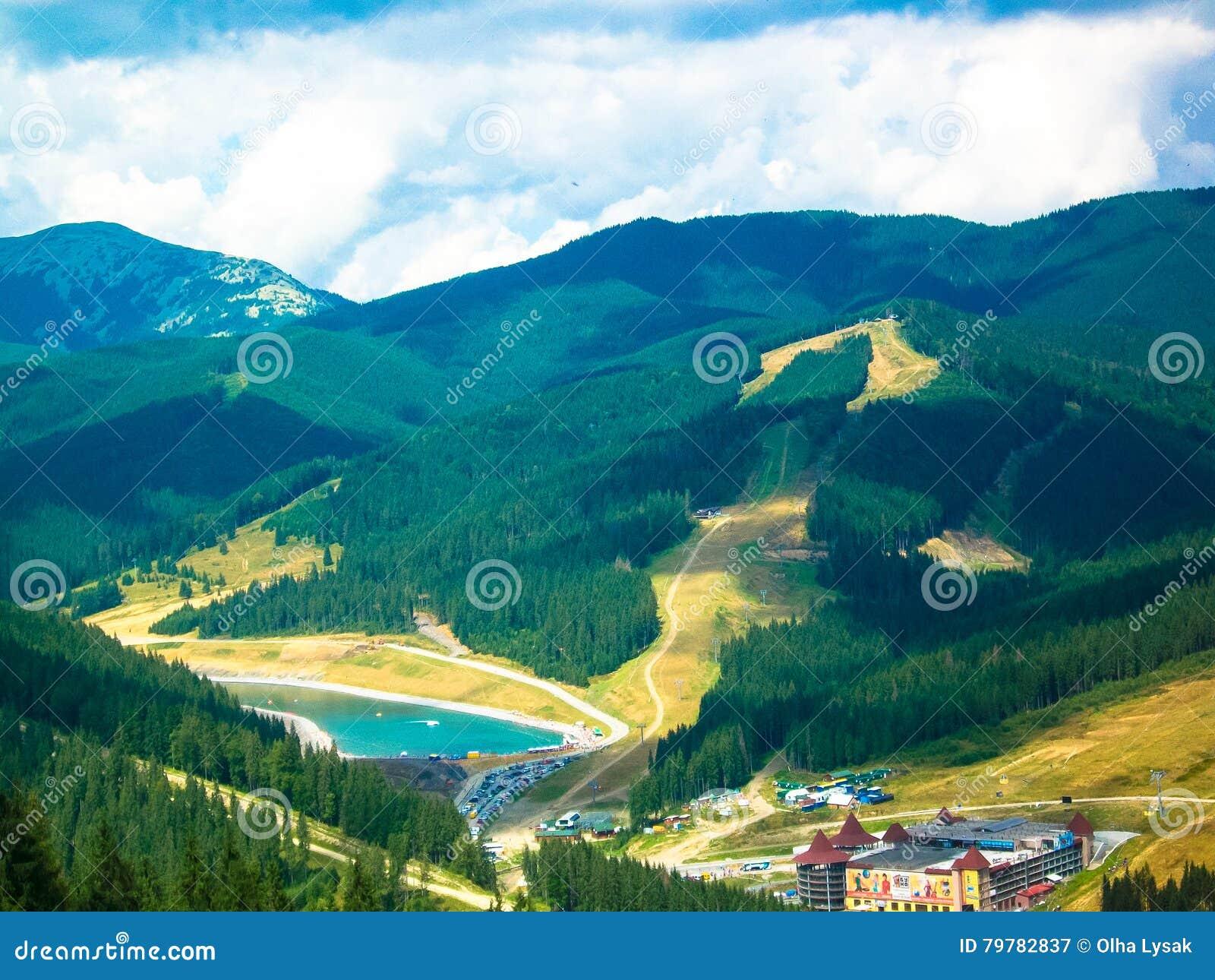 Carpathian najlepszy widok góry