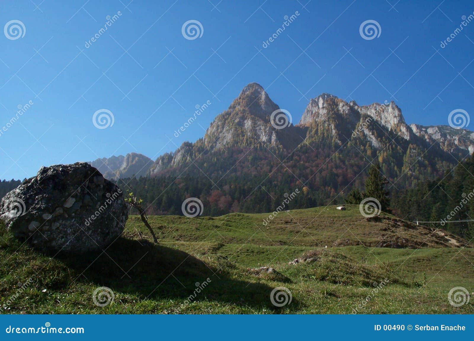 Carpathians skyline