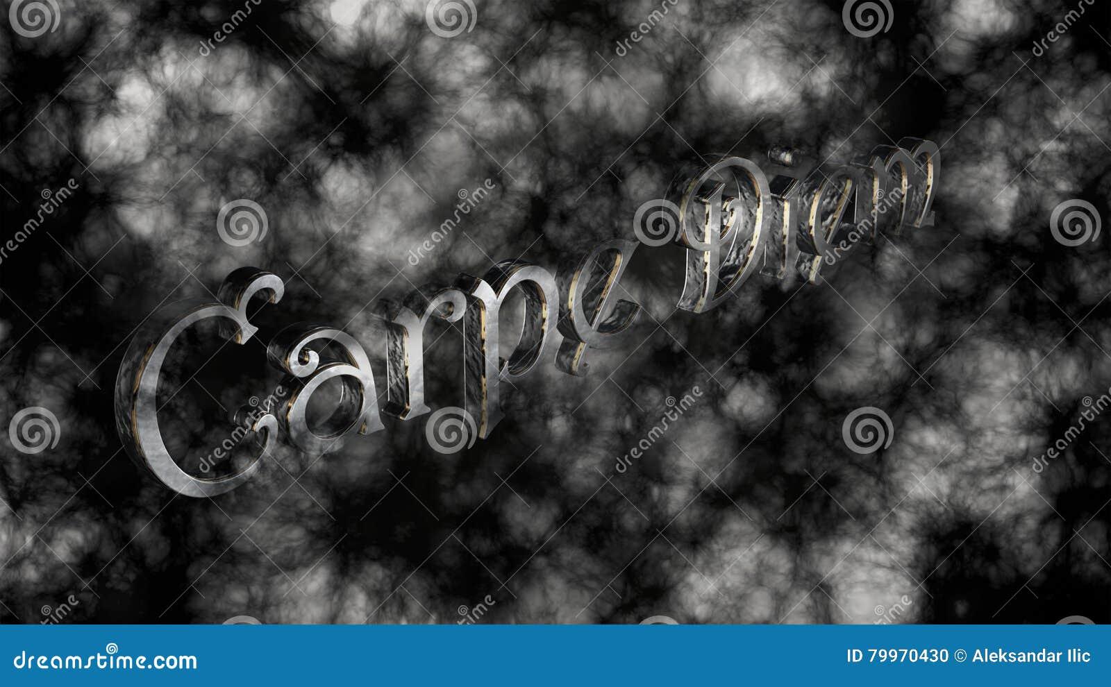 74a6a1bab242 Carpe Diem - η λατινική φράση που σημαίνει συλλαμβάνει τη στιγμή ...