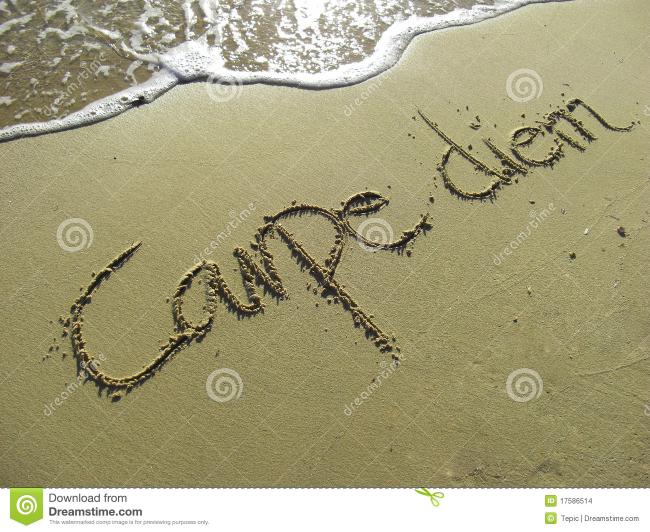 the message of carpe diem in Answer 1 of 10: we are going here in july 2011 has anyone else been recently  we are a family of six adults, two teenagers and a one year old is this villa.