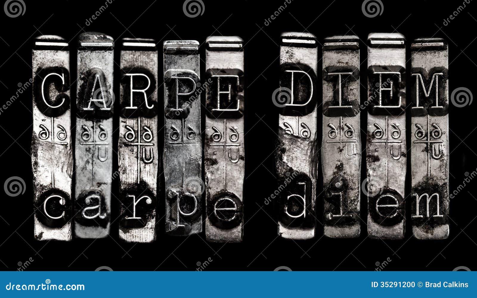 Carpe diem stock photo image 35291200