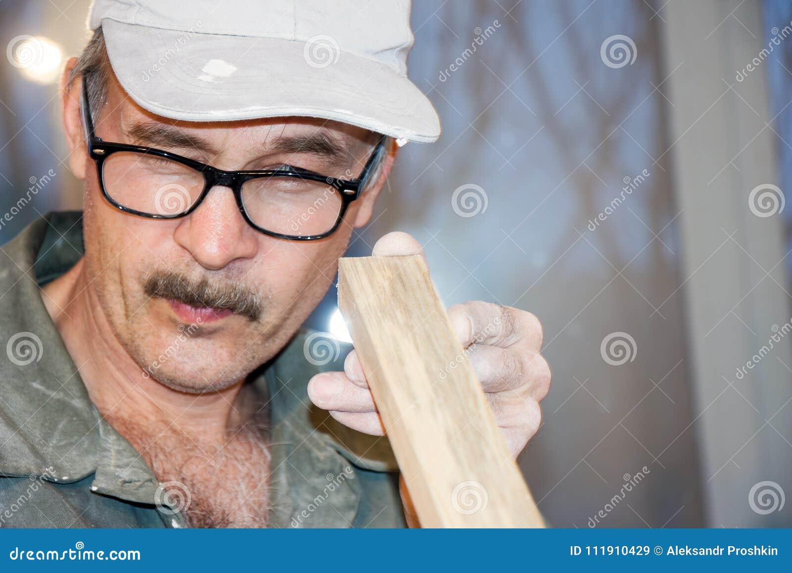 Carpenter checks the Board