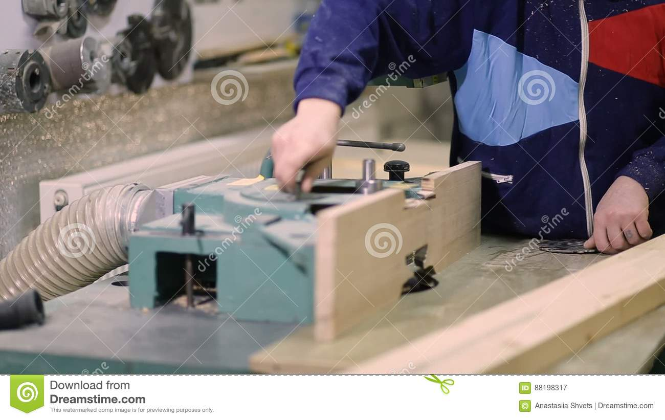 Carpenter installing circular saw blade on machine stock video carpenter installing circular saw blade on machine stock video video of machine milling 88198317 keyboard keysfo Choice Image