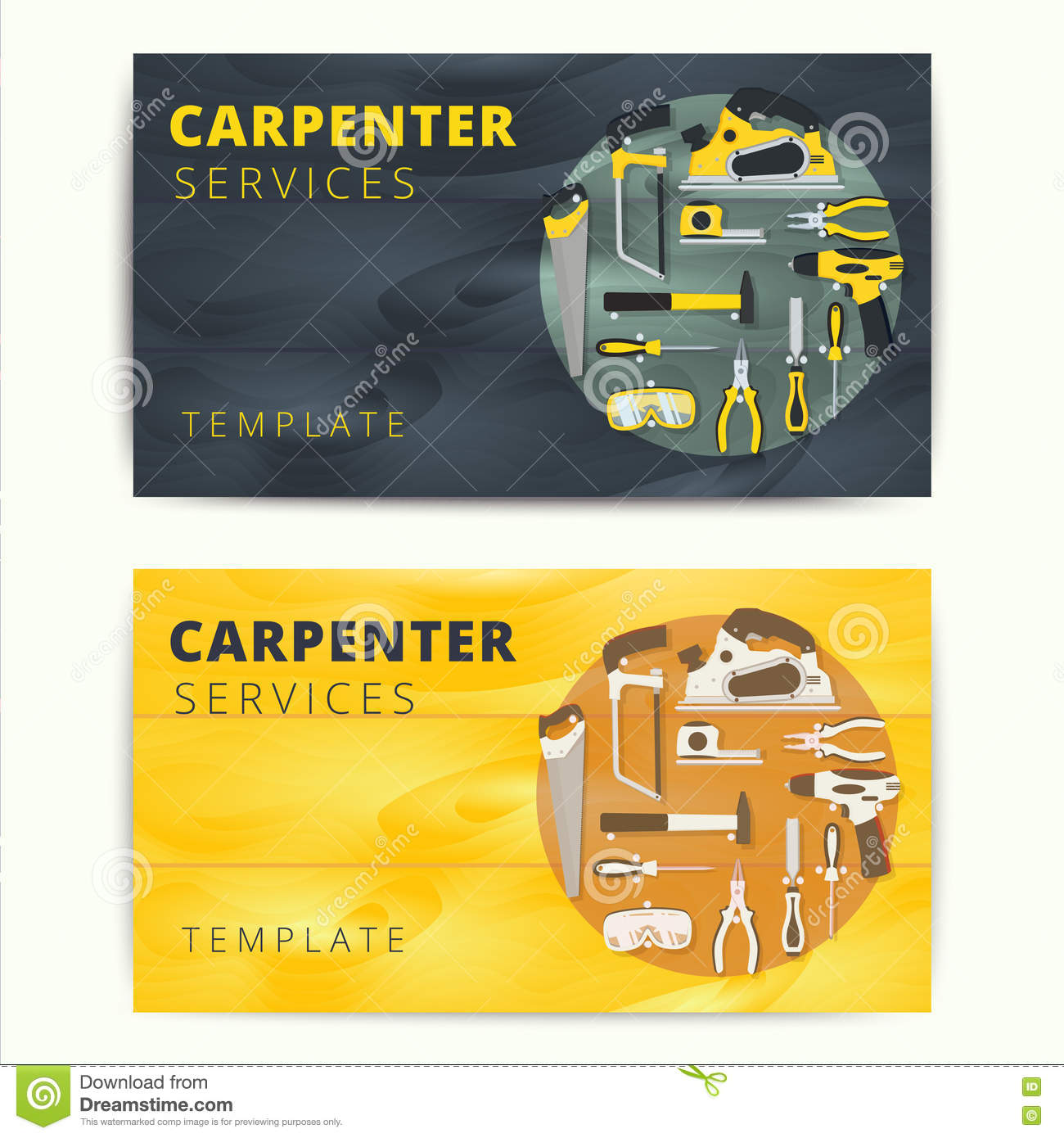 Carpenter or repairman service vector business card design wood download carpenter or repairman service vector business card design wood stock vector illustration of cheaphphosting Choice Image