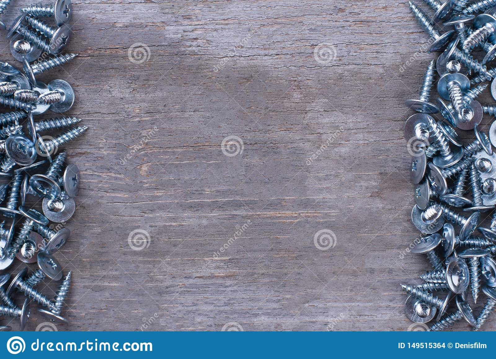 Carpenter tool border. stock photo. Image of industry ...