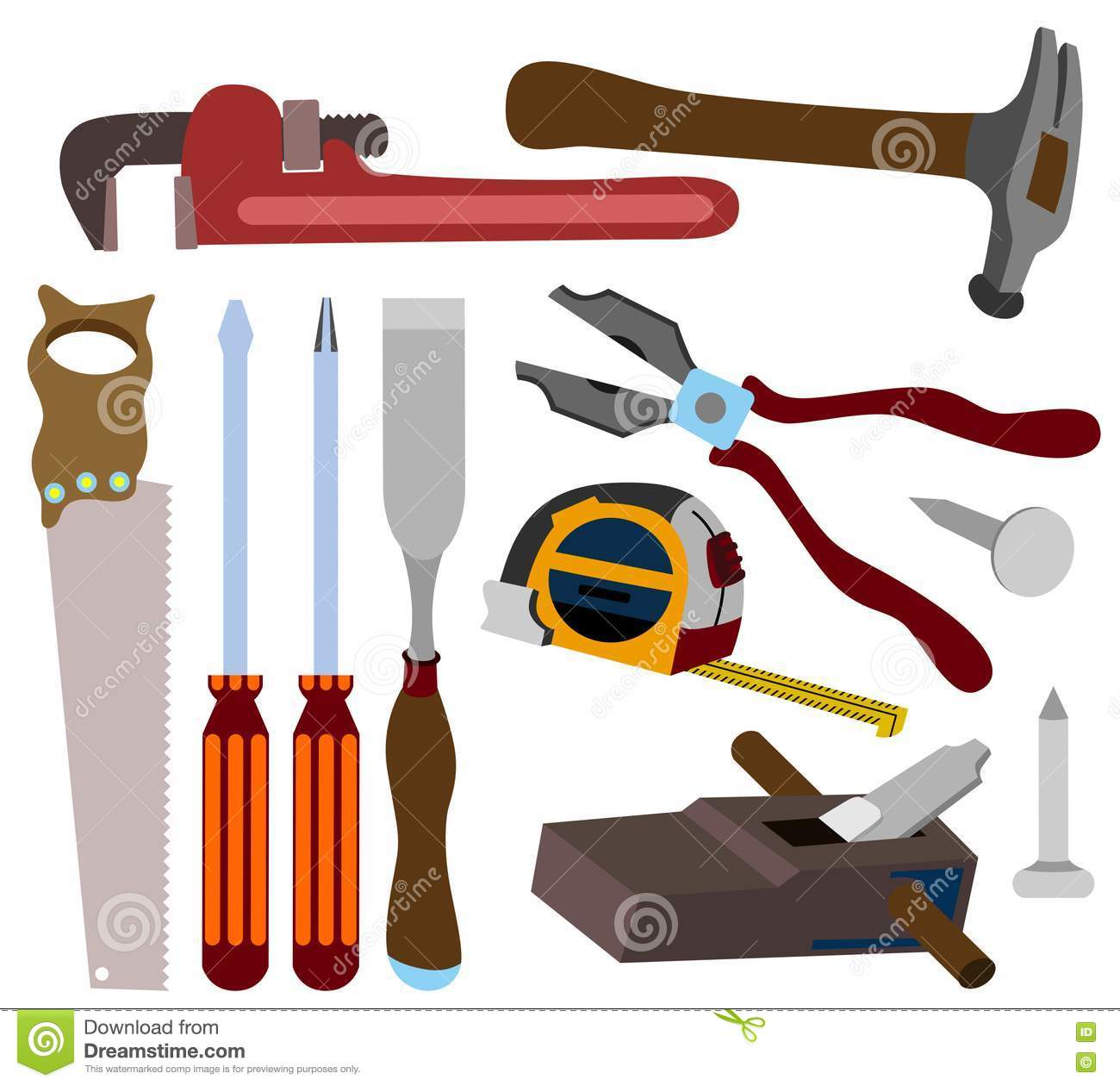 Carpenter Tools Royalty Free Stock Photography - Image: 21769247